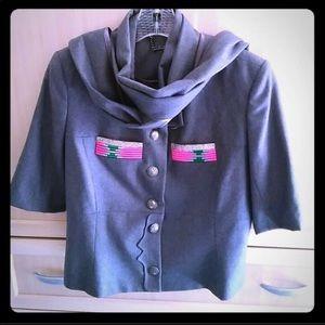 Designer couture wool jacket Matthew Williamson